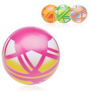 Мяч д.125мм окраш. по трафарету (любой), арт.Р4-125 фото