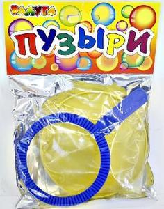 Большие мыльные пузыри солнышко(в пакете), арт.297 фото