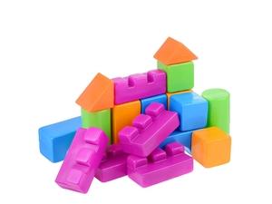 """Конструктор выдувной """"Кубики"""" - 8 (в сетке), арт.401/1 фото"""