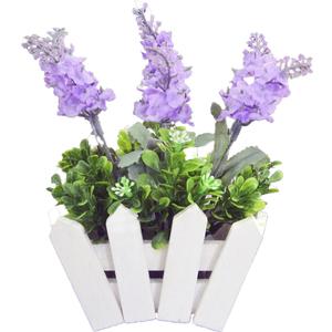 Цветы искусственные из пластмассы (кор.72) арт.В3-6712 фото