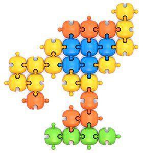 Напольная мозаика (48 фишек в кор.)  арт.798 фото