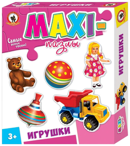 "Макси пазлы. ""Игрушки"" арт.03523 фото"
