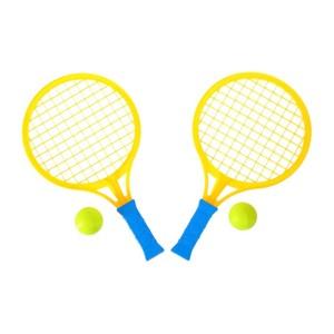 """Набор ракеток """"Крутой теннис"""", 2 ракетки, 2 шарика цвет МИКС, арт.2884035 фото"""
