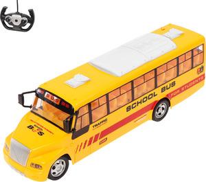 Автобус р/у на аккум с заряд уст-вом, движ. во всех направ. свет. эффекты в/к, арт.1569469 фото
