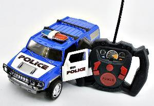 Полицейская машина р/у (в кор 24), арт.G3013R фото