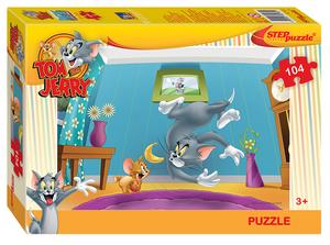"Мозаика ""puzzle"" 104 ""Том и Джерри"" (Уорнер Браз) арт.82165 фото"