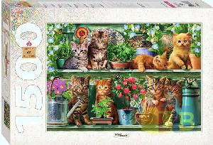 """Пазл 1500 """"Котята арт.83057 фото"""