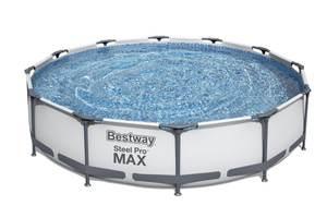 Бассейн каркасный Bestway Steel Pro Max 366 х 76 cм ф/насос, арт.56416 фото