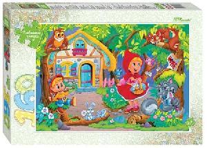 """Мозаика """"puzzle"""" 160 """"Красная Шапочка"""" (Любимые сказки), арт.72068 фото"""