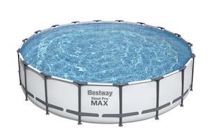 Бассейн каркасный Steel Pro Max 549x122 см полный набор,арт.56462 фото