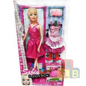 Кукла с аксессуарами ( одежда, сумочка) арт.BBL7715 (кор.72) Ш фото
