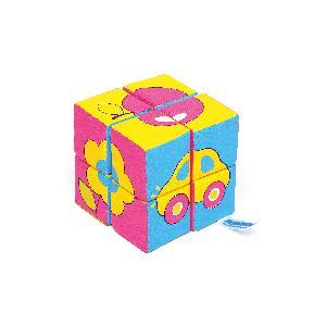 Мякиши-кубики Собери картинку.Предметы, 8шт. арт.335мяк фото