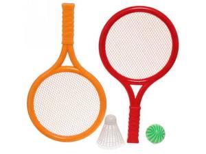 Набор для тенниса:  2 ракетки, волан, мяч, МИКС, арт.1892415 фото