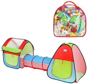 Комплекс игровой, палатки 2шт. с туннелем, сумка, арт.200557016 фото