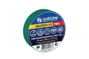Изолента Safeline 19/20 зелёный арт.9370 фото