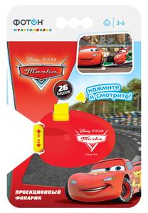 Мультфонарик-проектор ФОТОН КР-0904-2,Disney/Pixar Тачки (кор.10шт.)арт.22773 фото