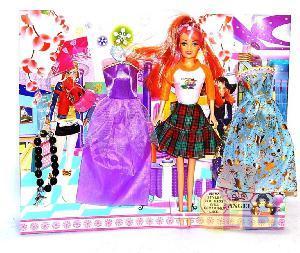 Набор кукла с одеждой арт.7618-С (кор.144) фото