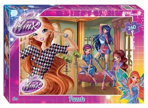 "Мозаика ""puzzle"" 260 ""Winx  - 2"" (Rainbow), арт.95068 фото"