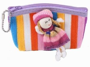 Сумочка для кукол - Кошелек с куколкой (12) в пак., арт.100747053 фото