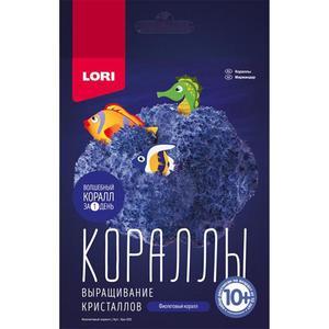 """Выращивание кристаллов.Кораллы """"Фиолетовый коралл"""", арт.Крк-002 фото"""