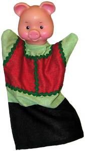 Хрюша (кукла-перч.), арт.11046 фото