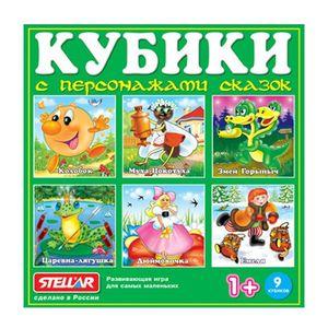 Кубики в картинках 06 (персонажи сказок) арт.00806 фото