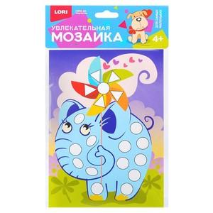"""Увлекательная мозаика (набор малый) """"Слонёнок"""", арт.Км-003 фото"""