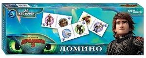 "Домино ""Как приручить дракона - 3"" (DreamWorks), арт.80124 фото"