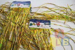 """Украшение елочное """"Дождик"""" арт. JK009 (кор/5000) (уп.1/10) цна за шт.  фото"""