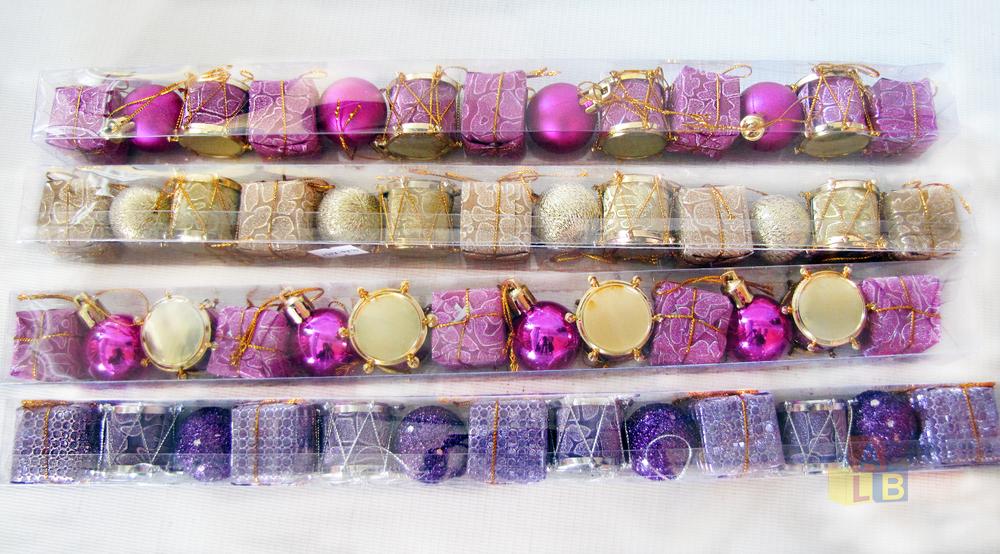 Набор елочных игрушек ассорти арт. JL26-7230 (кор/340) фото
