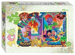"""Мозаика """"puzzle"""" 104 """"Аладдин"""" (Любимые сказки), арт.82031 фото"""