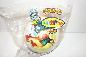 Мяч 200мм лакир. с-76ЛП( рисунок) арт с-76ЛП(1/8) фото