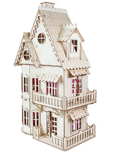 Кукольный домик Волшебный 3D-Город арт. Д-001 фото