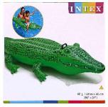 """Надувной крокодил """"Лил"""" 163/97см (кор.12) арт.58546NP фото"""