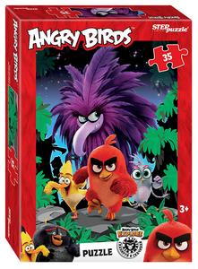 """Мозаика """"puzzle"""" 35 """"Angry Birds"""" (Rovio), арт.91182 фото"""