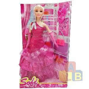 Кукла в одежде арт.BBL77148 (кор.72)Ш фото