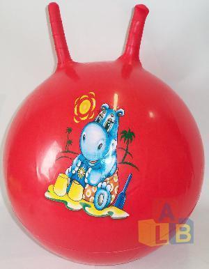 """Мяч с рожками 55"""" арт.2517-3/2 (кор/60) фото"""