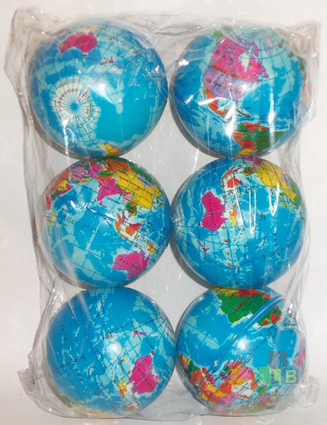 Мяч детский формовый (1/6 цена за штуку) арт.2517-20 (кор/300) фото