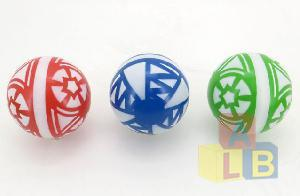 Мяч 200мм лакир.с-33ЛПЦ (сетка) арт.с-33ЛПЦ (1/8) фото