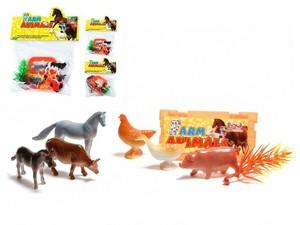 Набор животных (литые) FarmAnimals малый в пак, арт.43015 фото