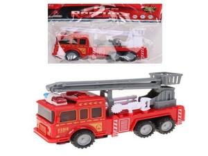Машина пожарная инерц.FireRescue с раскладной люлькой и инвентарем пожарника в пак, арт.45823 фото