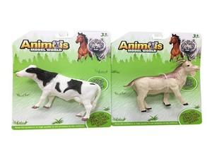 """Фигурка животного 5,5"""" (2в.) литая AnimalsModelWorld в ассортименте на карт., арт.47113 фото"""