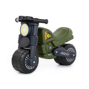 "Мотоцикл ""Моторбайк"" военный, арт.48738 фото"