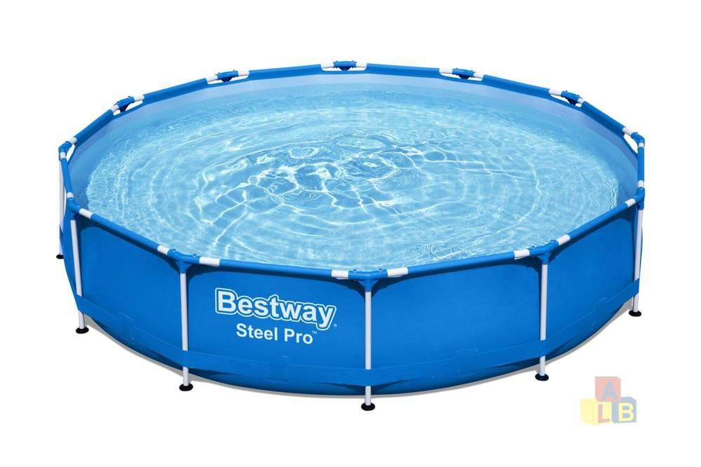 Бассейн Каркасный Bestway Steel Pro 366х76 см фильтр-насоc, арт.56681 фото