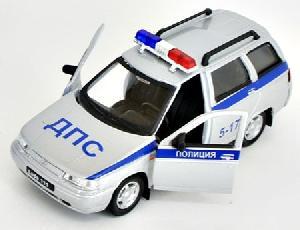 """маш """"LADA 111"""" полиция 1:36 арт.2641 фото"""