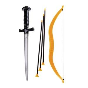 """Набор оружия """"Забияка"""" меч, лук, 3 стрелы КНОПА, арт.87013 фото"""