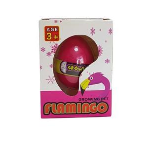 Яйцо с растущим животным Фламинго (12) 5,5см, арт.46149 фото