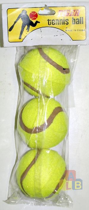 Мячик для большого тенниса  ЦЕНА ЗА УПАКОВКУ  арт.2477-3 (кор.240)  фото
