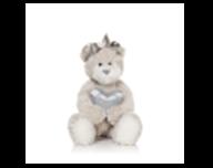 Мишка Белла с сердечком м/н, 23см в кор. арт.MT-TS041007-33 фото