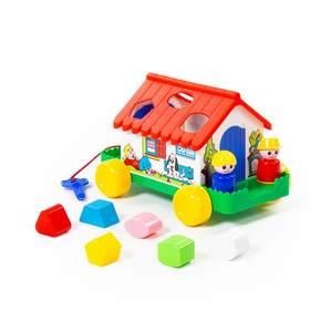 Игровой дом (в сеточке) арт.6202 (1/9) фото